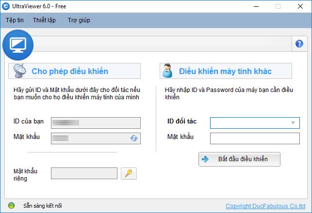 UltraViewer 6.0.9 - Sửa lỗi hình ảnh bị mờ khi kêt nối tới máy có độ phân giải thấp hơn